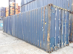 contenedor marítiimo 40 pies High Cube Pallet Wide