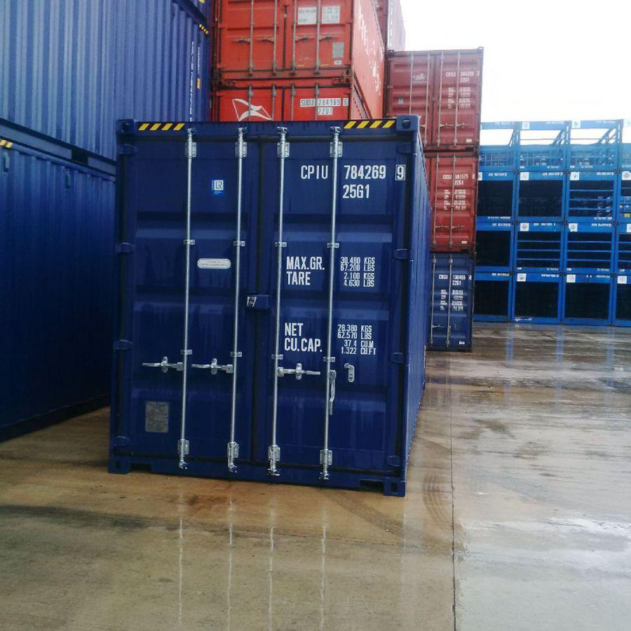 Venta contenedores maritimos y m dulos prefabricados - Pallets por contenedor ...