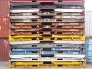flat rack 20' plegado