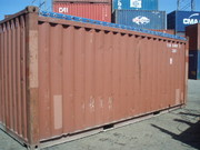container 20' open top used