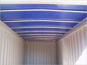 Container 20' Open Top inside