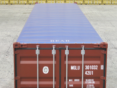 container 40' OT new, tarpaulin