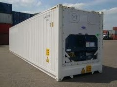 container 40' HC reefer Carrier