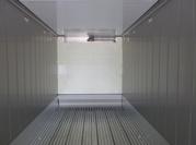container 40' HC reefer inside
