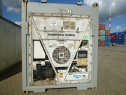 Container 40' HC Reefer, used, second hand, Thermo King