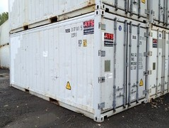container 20' reefer used