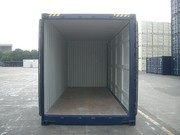 Container 20' High Cube Open Side inside