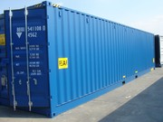 Container 40' High Cube Open Side