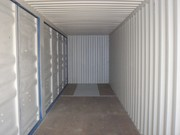 Container 40' High Cube Open Side inside
