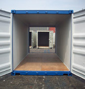 Container 20' Double Door inside